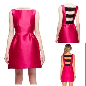 Kate Spade NY Pink Flirty Back Cocktail Dress